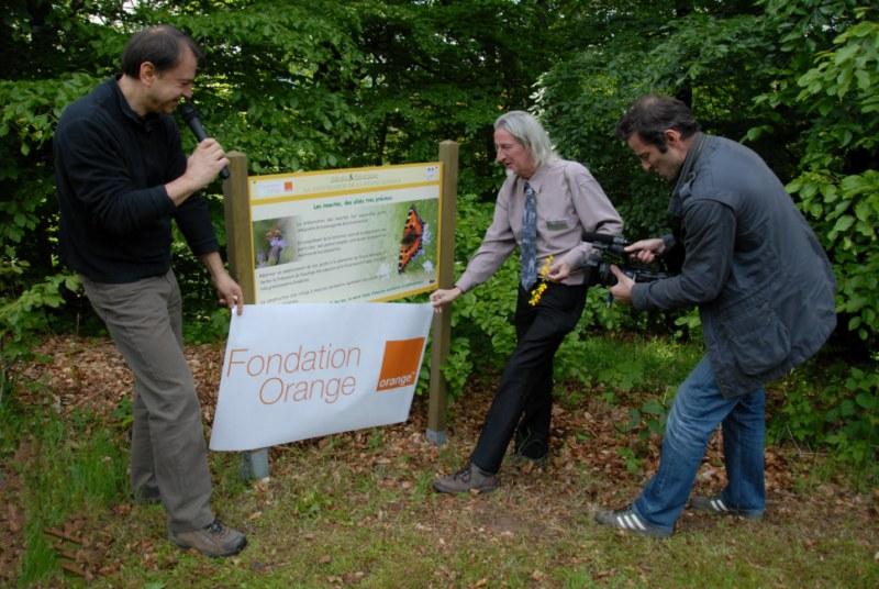 Premier partenariat avec la Fondation Orange pour la sensibilisation à la protection des insectes